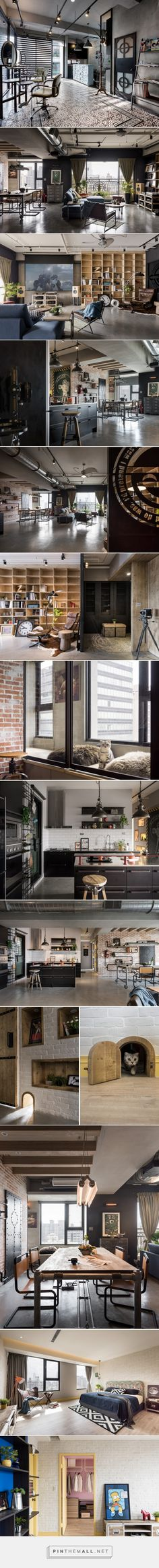 HAO design highlights industrial charm in recall house - created via http://pinthemall.net