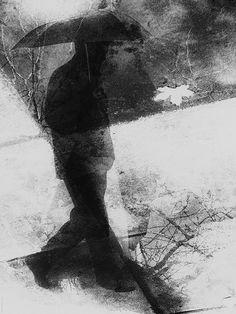 man in the rain (monoprint) Art Gallery, Experimental Photography, Art Photography, Photo Art, Photo, Fine Art, Art, Monoprint, Fine Art Photo