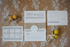 Creatively Displayed Wedding Invitations ~ we ♥ this! moncheribridals.com