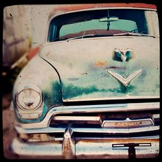 Photograph of a Vintage Chrysler Route 66 Home by TraceyCapone, $30.00