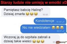 To jest pikne xD Wtf Funny, Funny Memes, Funny Messages, Life Humor, Laughing So Hard, Good Mood, Best Memes, Haha, It Hurts
