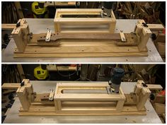 Neck shaping jig collection 1