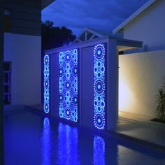 Aslyiam - Metal Laser Cut Screens - Outdoor Screens & Wall Features - Watergarden Warehouse