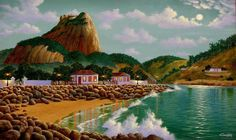 Barra By Moonlight In 1965 - Rio De Janeiro | Artsia