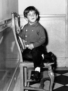 Young John F. Kennedy Jr. Photograph