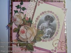 vixenvarg: Decoupage Delights.....Vintage Roses and Gentian B...