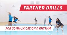 Help your players warm up with three different variations of partner ball-control drills that focus on volleyball as a game of rhythm.