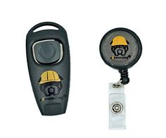 Humane Dog Training Clicker Device with Built In Whistle For Dog Obedience Training and Behaviorial Conditioning