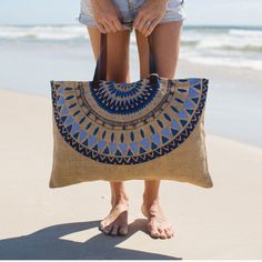 JUTE BAG | majorellle by the beach people from Cranmore Home via The Third Row