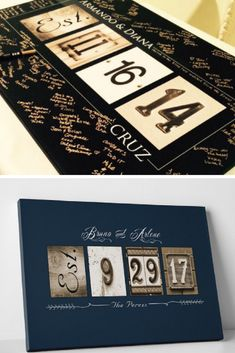 Wedding Guest Book Ideas // Alternative Guestbook // Wedding Guestbook Custom Guest Book - Limited Time Only // Fits 55-350 Signatures -1 #wedding #guestbook #married #wife #brideandgroom #home #homedecor