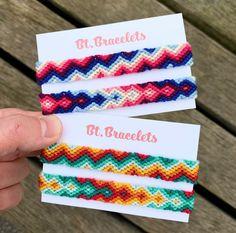 Diy Bracelets Patterns, Yarn Bracelets, Summer Bracelets, Bracelet Crafts, Cute Bracelets, Bracelet Designs, Diy Friendship Bracelets Tutorial, Diy Friendship Bracelets Patterns, Homemade Bracelets