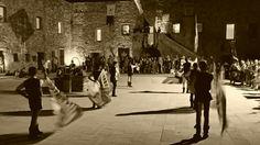 Sbandieratori al castello