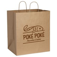 Kraft Paper Large Bag (08306-01)