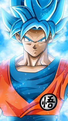 Click & repin see more Dragon Ball products. Wallpaper Do Goku, Dragon Ball Z Iphone Wallpaper, Mobile Wallpaper, Green Wallpaper, Dragon Ball Gt, Blue Dragon, Image Dbz, Goku Blue, Foto Do Goku