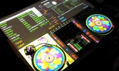 Augmented Turntables using Projection Mapping (video on engadget)