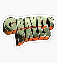 """""""Gravity Falls"""" Stickers by TheMysteryShack Stickers Kawaii, Cartoon Stickers, Cool Stickers, Printable Stickers, Laptop Stickers, Planner Stickers, Logo Sticker, Sticker Design, Desenhos Gravity Falls"""