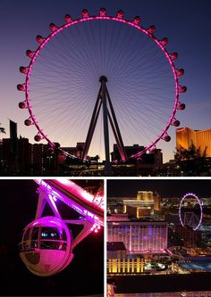 This gigantic observation/Ferris wheel is brand new to Las Vegas.  It is like the London Eye, but bigger.  Surprisingly it really is a fun ride as pods are big enough to feature whole groups of friends, and even your own bar and bartender.  Click through to read the top 10 things to do in Las Vegas!