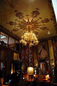 Tony Duquette's Dawnridge via tartanscot.blogspot.com