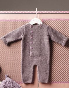 Book Baby 66 Autumn / Winter | 1: Baby Onesie | Dark mauve