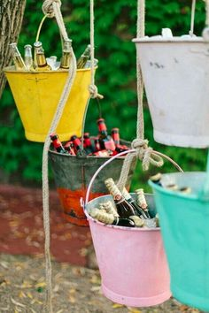 mariage maison ides top 14 must see rustic wedding ideas for 2019 rustic wedding decorations of hanging glasses with burlap spring weddings diy wedding decors on a budget garden weddings Home Wedding, Diy Wedding, Rustic Wedding, Garden Wedding, Wedding Ideas, Wedding Colors, Trendy Wedding, Deco Champetre, Ideas Para Fiestas