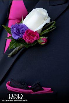 Wedding Photography   Wedding Details   Hot Pink & Purple   Wedding Flowers  