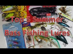 Top 5 Summer Bass Fishing Lures and Baits - Summertime Tips and Techniques - How to - (More info on: http://1-W-W.COM/fishing/top-5-summer-bass-fishing-lures-and-baits-summertime-tips-and-techniques-how-to/)