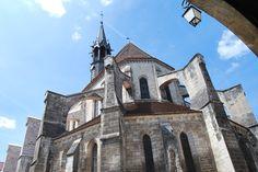 Church in Chablis
