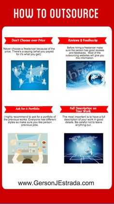 The art of outsourcing #infographic #outsource #internetmarketing http://www.gersonjestrada.com/how-to-outsource/