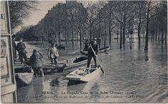 Venez découvrir l'ensemble des cartes postales que nous avons sur ces crues de 1910 en cliquant ici : http://bit.ly/15qjrt3