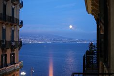 View from B&B Napoli Room Procida Orsini 46 -   - could spend all evening staring out at this.