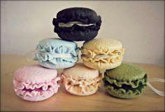 For more info visit Facebook page : Cecia's Creations  dolci tentazioni in feltro-macaron
