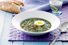 Opskrift på suppe med østershatte og ostegifler