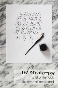 1000 Images About Calligraphy On Pinterest Modern