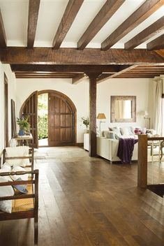 Spanish inspired dream home on Lake Conroe Home Interior Design, House Styles, Rustic House, House Design, Mexico House, Spanish Style Home, House Interior, Mediterranean Home, Home Deco