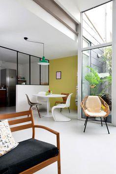 Via April and May | Midcentury Modern | Panton | Saarinen
