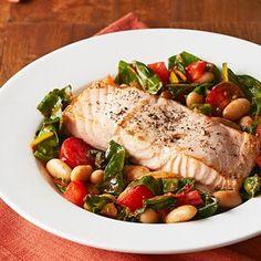 Salmon Recipes, Seafood Recipes, Diet Recipes, Healthy Recipes, Onion Recipes, Seafood Dishes, Healthy Dinners, Diabetic Recipes, Delicious Recipes