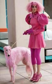 Matchig with your dog must be really fashionable in the Capitol.      --CC