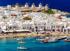 Myconos greece