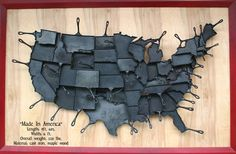 State shaped skillets. This would be perfect when I'm in the mood for NY or RI shaped cornbread