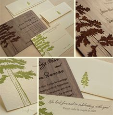 Probably our favorite of the ones here. Especially like how the brown tree looks to be printed on wood.