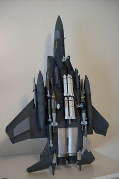 F-15E Strike Eagle. Tamiya 1/32 scale.