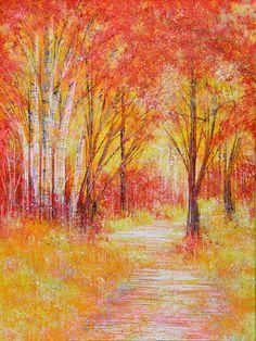 ARTFINDER: Autumn light by Marc Todd -