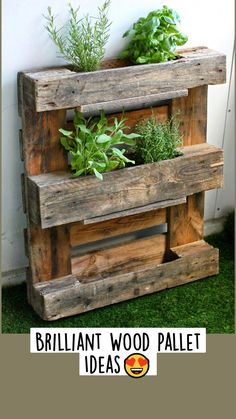 Diy Pallet Projects, Garden Projects, Wood Projects, Woodworking Projects, Pallet Ideas, Diy Design, Design Ideas, Wooden Pallets, Wooden Diy