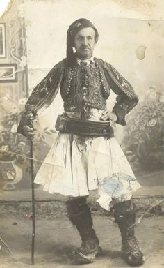 Greek Independence, Royal Guard, Albania, Greece, Folk, Black And White, History, Pictures, Painting