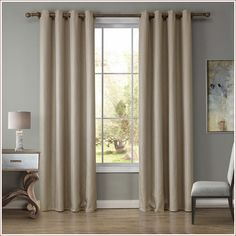 Solid Velvet Blue Blackout Curtains For Living Room . Curtains: Charming Short Blackout Curtains For Cool Window . High End Curtains Window Drapes Custom Curtains Sale . Modern Room, Home Curtains, Curtains Living, Living Room Modern, Bedroom Drapes, Stairs In Living Room, Grey Curtains Living Room, Finished Living Room, Blackout Drapes