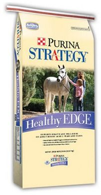 Purina Strategy Healthy Edge #Horse #Feed at Wells Brothers Pet Supply in Plano, TX. wbfarmsupply.net