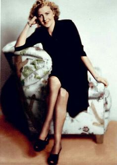 Eva Braun, in color.