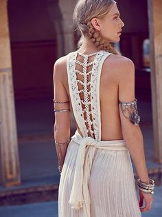 Spell Designs White Dove Lace Maxi at Free People Clothing Boutique