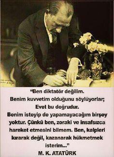 Kalpleri kazanarak hukmeden bir lider o. Republic Of Turkey, The Republic, Armenian Culture, Turkish People, Riders On The Storm, Turkish Army, The Turk, Fathers Love, Say More