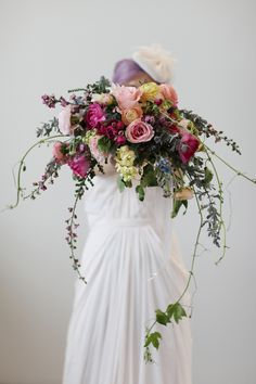 Monet Inspired Styled Shoot - http://fabyoubliss.com/2015/05/26/same-sex-monet-inspired-styled-shoot